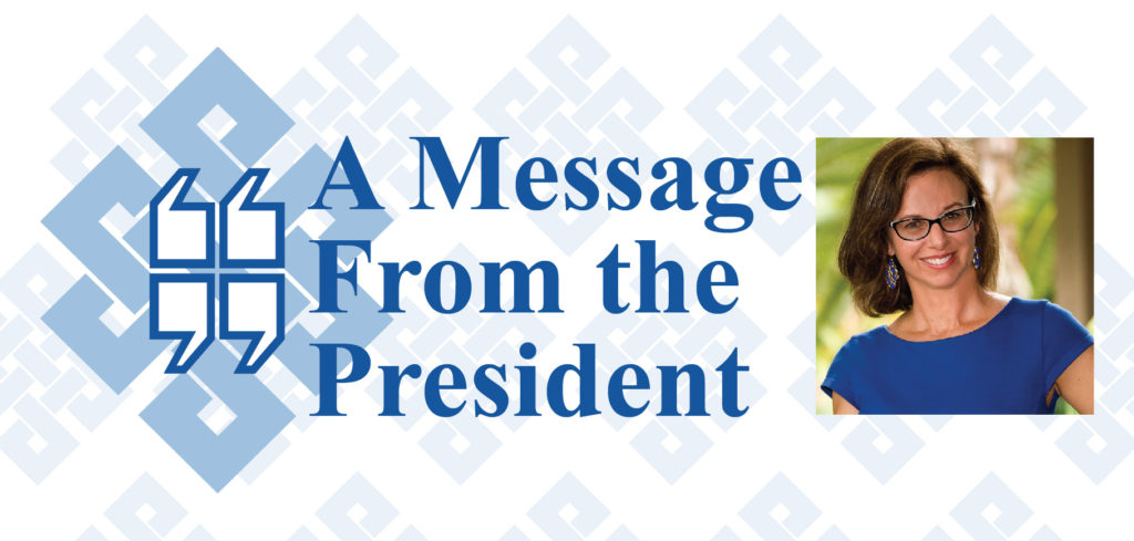 A Message From The President